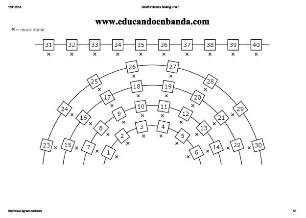 Band_Orchestra Seating Chart