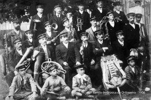 Banda de Ortigueira. 1906. foto oficial